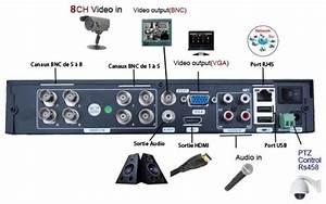 Comment Installer Camera De Surveillance Exterieur : mecer kit enregistreur vid o 1 to de surveillance dvr ~ Premium-room.com Idées de Décoration