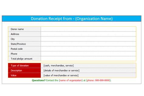 donation receipt template  word dotxes