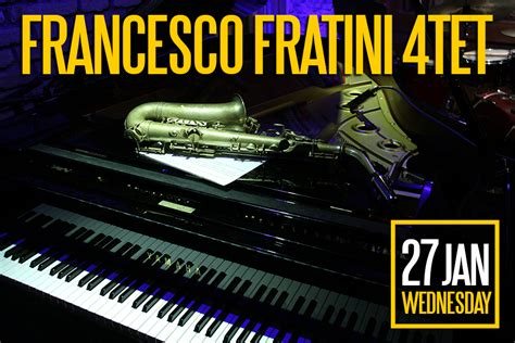 Librerie Internazionali Roma by Francesco Fratini 4tet Gregory S Jazz Club Locali A Roma