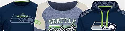 seattle seahawks clothing seahawks merchandise nfl