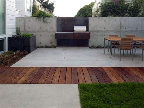 Backyard Concrete Ideas by 60 Concrete Patio Ideas Unique Backyard Retreats
