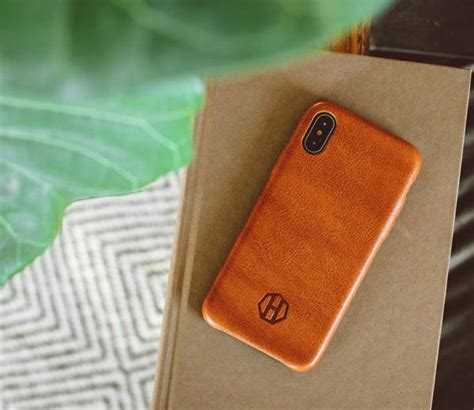 leather iphone case mens brown leather iphone