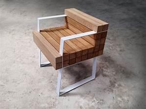 Petit Fauteuil Design : chaiss petit fauteuil design bois s bastien mazzoni blog espritdesign 2 design chaises et meubles ~ Teatrodelosmanantiales.com Idées de Décoration