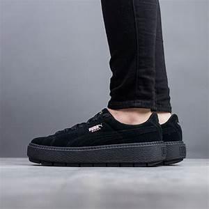 cf38d858f24 women 39 s shoes sneakers puma suede platform trace 365830 01 best shoes  sneakerstudio