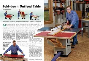 Folding outfeed table for the 4511? - RIDGID Plumbing