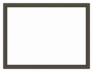 Black Borders Certificate - ClipArt Best