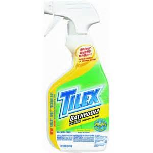 Tilex Bathroom Cleaner With by Tilex Bathroom Cleaner Ebay