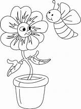 Bee Coloring Pages Cl Coloring2print sketch template