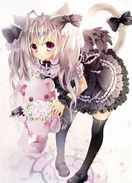 best cute anime cat girl ideas and images on bing find what you