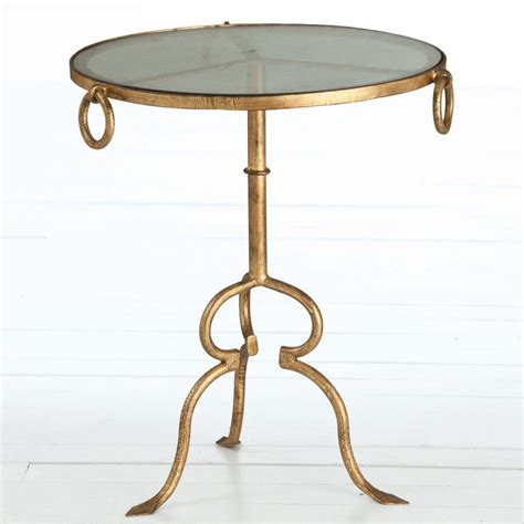 gold end table furniture gold mirrored accent table home design ideas 4876
