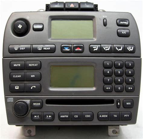 Jaguar X-type 2002-2003 Factory Stereo Am/fm Cd Player Oem