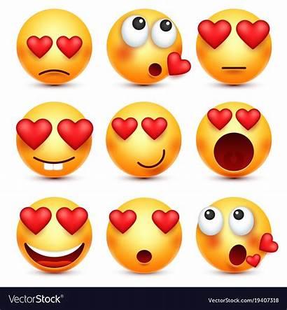 Emoji Valentine Valentines Smiley Clipart Heart Vector