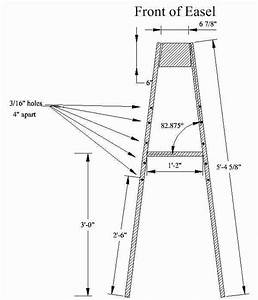 Download Table top easel woodworking plans ~ plans woodworking