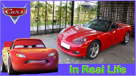 cars  characters  real life disney cars irl youtube
