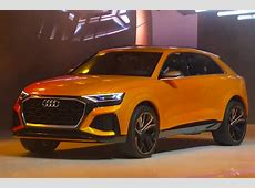 Audi Q8 Sport Concept previews rangetopping large SUV
