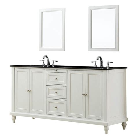 70 double sink bathroom vanity direct vanity sink classic 70 in double vanity in pearl