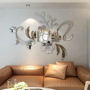 Elegant Mirror Wall Decor Awesome Romantic Love Mirror 3d