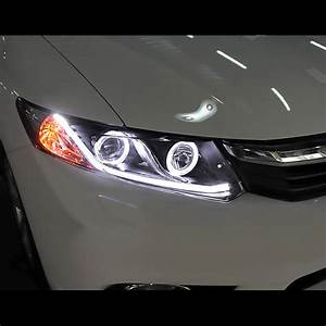 Hid Xenon 12 15 Honda Civic Sedan 12 13 Coupe Drl Led
