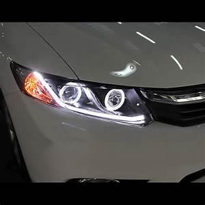 Hid Xenon 12 15 Honda Civic Sedan 12 13 Coupe Drl Led