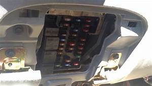 Ford Expedition 1996-2002 Fuse Box Location