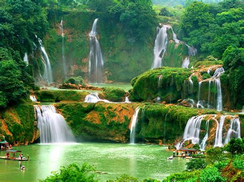 Top Most Beautiful Waterfalls The World Holidayme