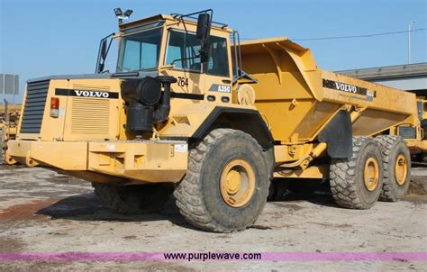 how much does a new volvo truck 1997 volvo a35c articulated dump truck item e2824 sold