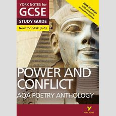 Pearson Education  Aqa Poetry Anthology  Power And Conflict York Notes For Gcse (91