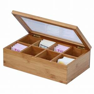 The Housewares Maven  Bamboo Tea Box