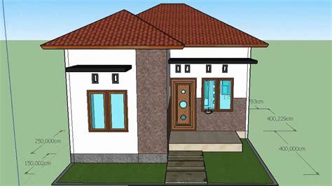 kumpulan desain rumah minimalis format google sketchup