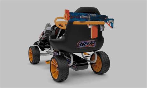 nerf battle racer hauck nerf battle racer go kart cool material
