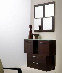 meuble entree wenge With ordinary petit meuble d entree design 6 idees deco pour une entree