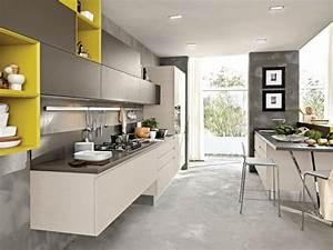 Image gallery modele de cuisine moderne for Mod le de cuisine moderne