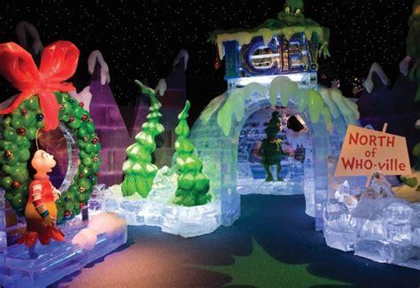 snow   atrium  reindeer  site igloos smores