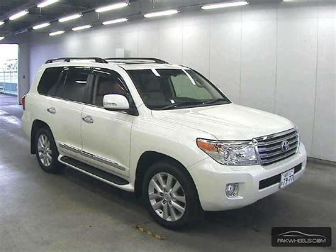Used Toyota Land Cruiser Zx 2013 Car For Sale In Karachi