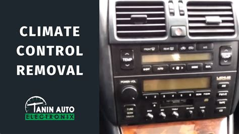 auto air conditioning repair 1997 lexus ls engine control how to remove 1995 1997 lexus ls400 climate control for lcd screen lighting repair tae youtube