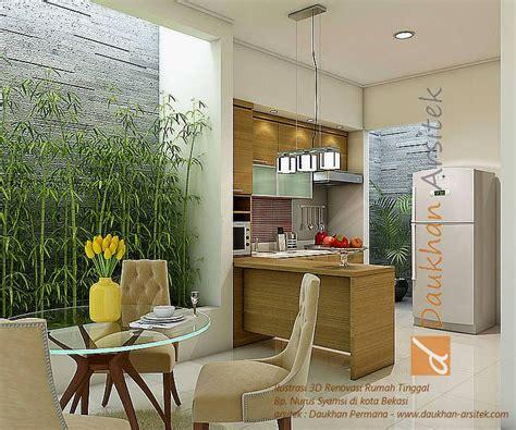 interior ruang makan  dapur minimalis lokasi  kota