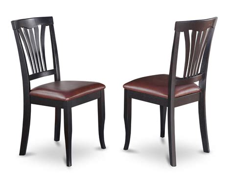 Kitchen Chairs by Set Of 2 Avon Dinette Kitchen Dining Chairs With Faux