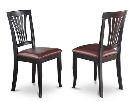 set   avon dinette kitchen dining chairs  faux