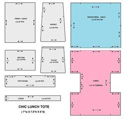 Free Printable Sewing Patterns Lunch Bag