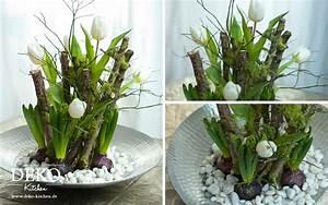 Blumendeko Selber Machen : diy ausgefallene blumendeko f r den fr hling deko kitchen ~ Markanthonyermac.com Haus und Dekorationen
