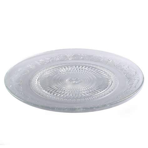 plaque verre cuisine assiettes en verre plats service cuisine de dessert plaque