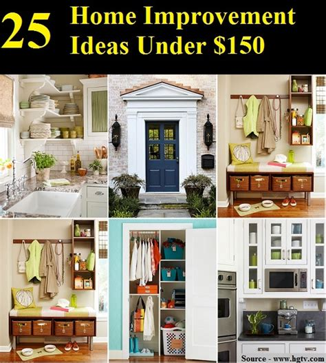 25 Home Improvement Ideas Under $150  Home And Life Tips