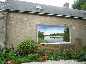 decoration maison mur exterieur With deco mur exterieur maison 7 decoration en trompe loeil en exterieur