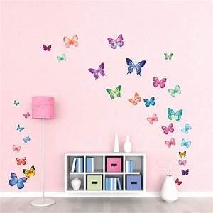 Wandtattoo Kinderzimmer Schmetterlinge : wandtattoo schmetterlinge ~ Sanjose-hotels-ca.com Haus und Dekorationen