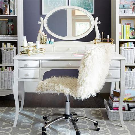 cheap vanity desk with mirror lilac desk vanity mirror hutch pbteen