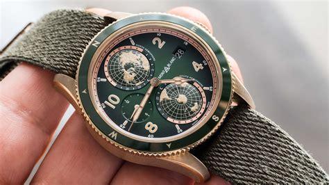 montblanc  geosphere green bronze  hands