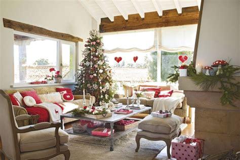 Weihnachtsdeko Landhausstil Weiß by Wohnzimmer Zu Weihnachten Dekorieren 35 Inspirationen