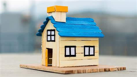 popsicle stick house youtube