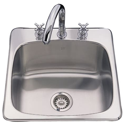 stainless steel undermount utility sink shop franke usa axis 20 125 in x 20 5625 in silk deck and