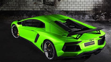 Aventador Lamborghini Reventon Green Wallpaper